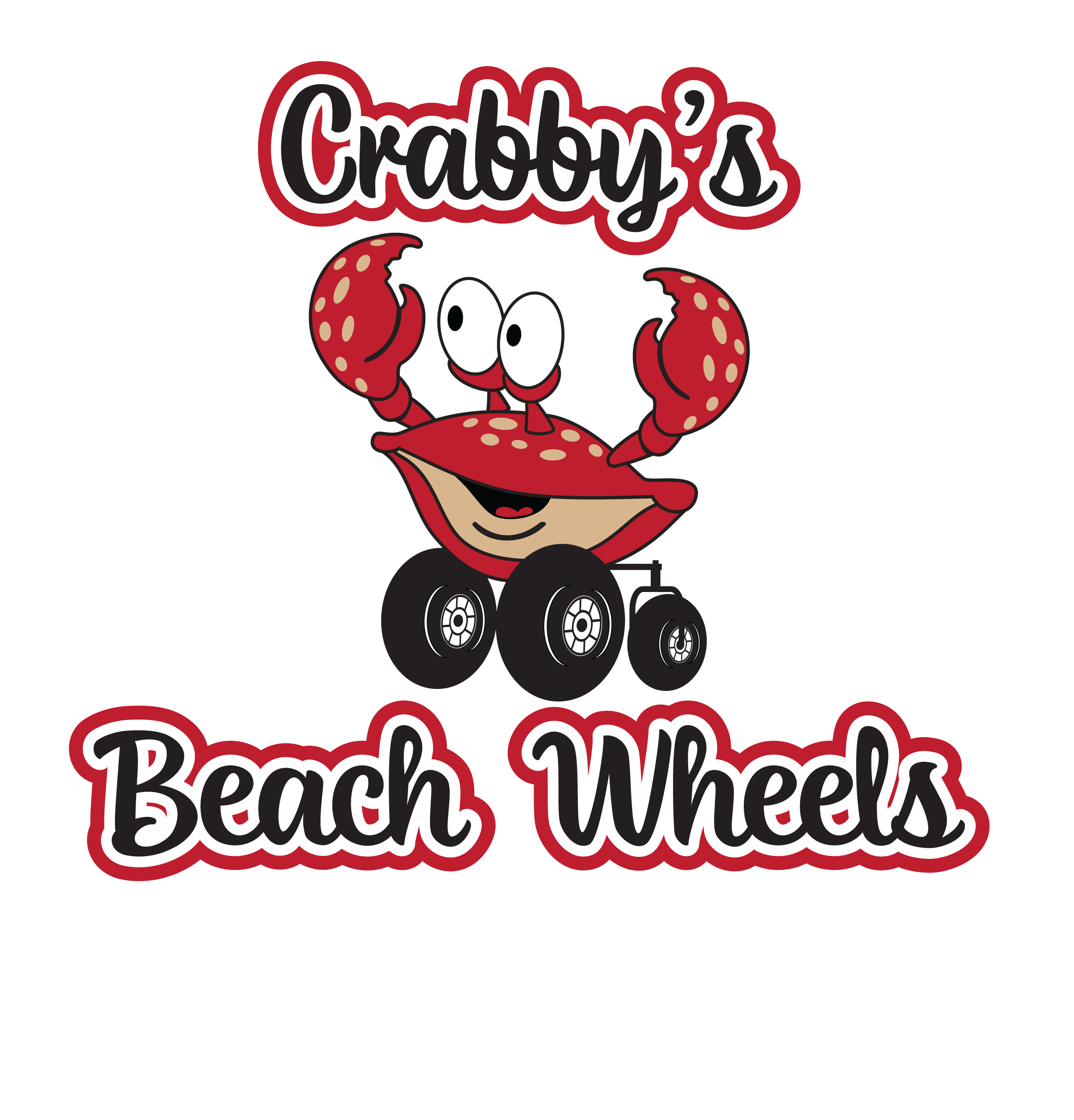 Crabby's Beach Wheels Logo Cocoa Beach FL Beach Wheelchair Rentals